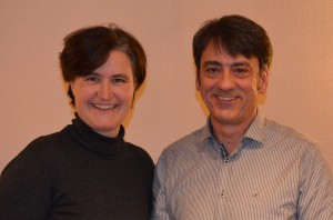 Sabine Stellrecht-Schmidt und Marcel Schmidt