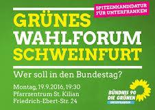 Grünes Wahlforum Schweinfurt