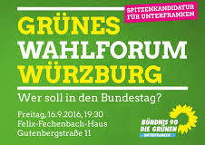 Grünes Wahlforum Würzburg