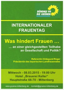Plakat Weltfrauentag 2017