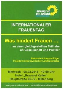Plakat Weltfrauentag 2017